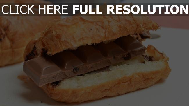 hd hintergrundbilder schokolade kekse croissants