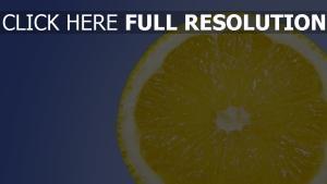 früchte zitrone gelb blau hintergrund