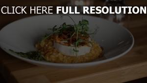 kürbisrisotto käse gemüse spinat
