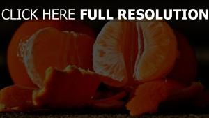 mandarinen nelken schalen orangen