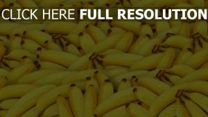bananen obst reif gelb