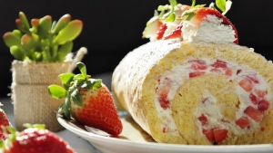 keks erdbeeren sahne sahne dessert