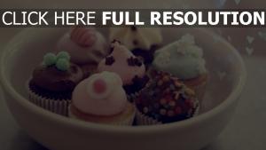cupcakes süßigkeiten dessert sahne fondant