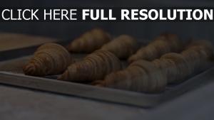 gebäck croissants muffins backen