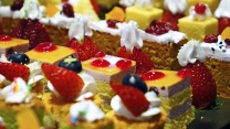 sahne beeren dessert kuchen torten