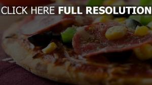 wurst mais makro pizza