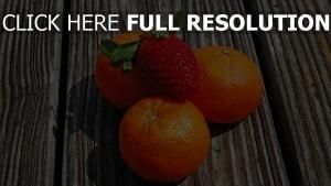 obst beeren mandarinen erdbeeren