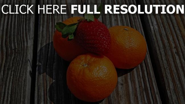 hd hintergrundbilder obst beeren mandarinen erdbeeren