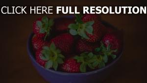 platte schmackhaft reif beere erdbeere