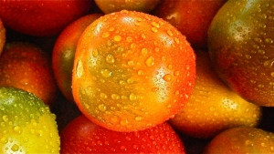 gemüse tropfen tomate