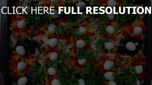 kichererbsen eier gemüse