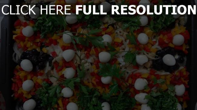hd hintergrundbilder kichererbsen eier gemüse