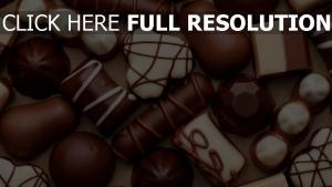 schokolade süßigkeiten weiß braun süßigkeiten