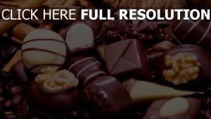 süßigkeit süßigkeiten schokolade dessert nüssen zimt
