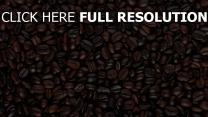 kaffee körner lose oberfläche