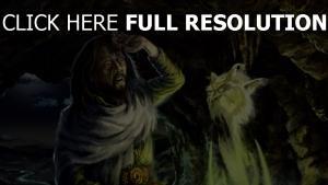 zauberer chan höhle magie