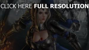 corset armor, pendant, art, weapons, girl