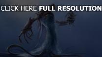 zerstörung schiff menschen meer dämon