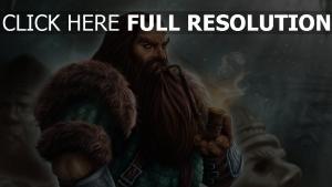 dwarf phantasie art pelz rohr