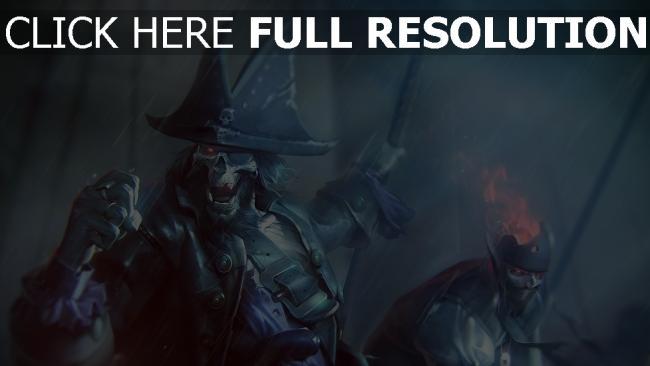 hd hintergrundbilder untote regen piraten