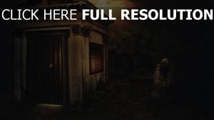 friedhof tod gruft nacht dunkelheit