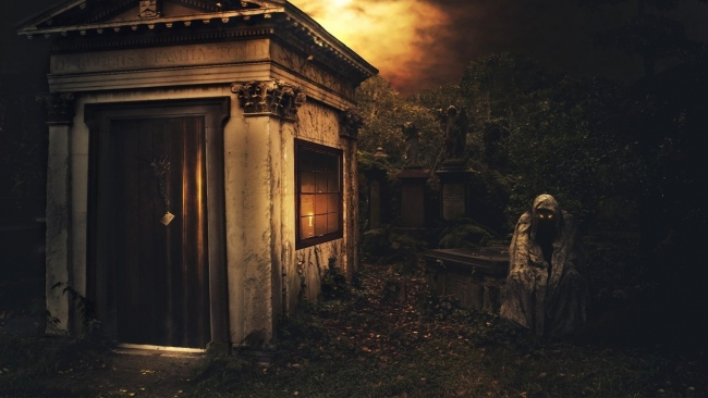 hd hintergrundbilder friedhof tod gruft nacht dunkelheit