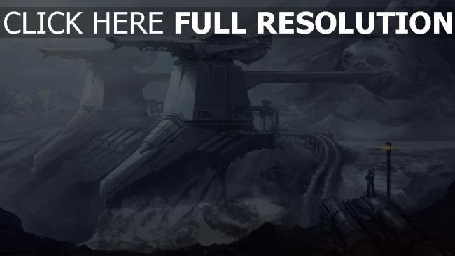 hd hintergrundbilder menschen station berge schnee