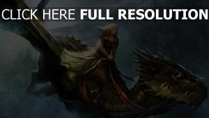 mädchen das lied von eis und feuer spiel der throne flug königin alysanne kälte drachen
