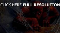 spiderman spider-man maske netz