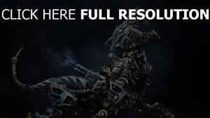 roboter mechanismus eisen tier cyber