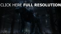 hund roboter cyborg hangar mechanismus
