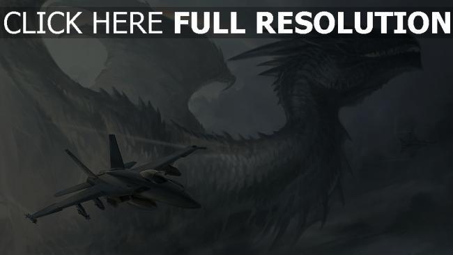 hd hintergrundbilder drache wings regenbogen flugzeuge himmel