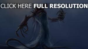 monster klauen meer tentakel fragmente