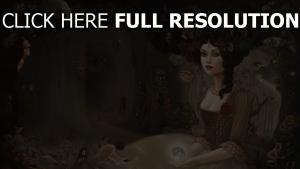 mädchen haar kleid menschen höhle