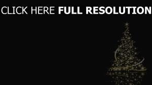 weihnachten baum fichte sterne neues jahr