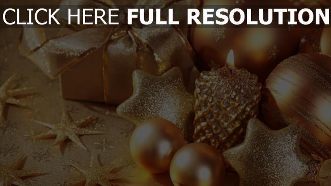Weihnachten Hd Bilder.Hd Hintergrundbilder Kerzen Glitter Sterne Geschenk Weihnachten