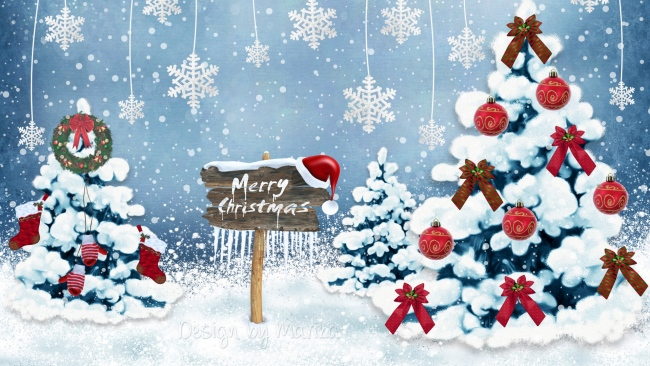 Hd hintergrundbilder schnee winter weihnachten for Holiday themed facebook cover photos
