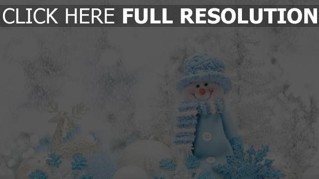 hd hintergrundbilder winter schnee schneemann weihnachten dekorationen