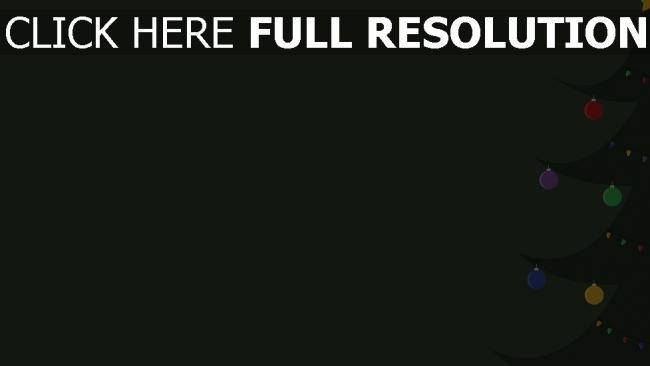 hd hintergrundbilder zeichnung minimalismus tanne weihnachten silvester