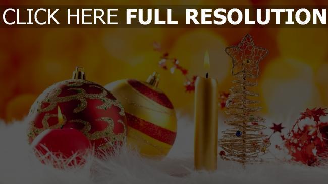 hd hintergrundbilder kerzen spielzeug dekorationen neujahr weihnachten