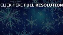 schneeflocken schnee muster winter