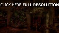 tanne dekorationen girlanden kamin urlaub weihnachten