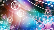 zeichnen schneeflocken neues jahr feier