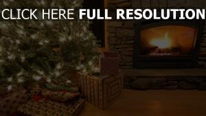 kamin tanne kranz geschenk weihnachten