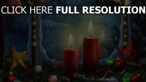 kerzen sterne schnee winter weihnachten