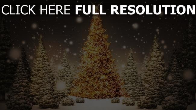hd hintergrundbilder neues jahr girlande schnee winter neujahr weihnachten