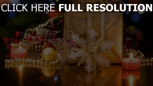 hd hintergrundbilder geschenk kerzen dekoration urlaub weihnachten