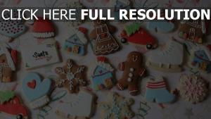 cookies figuren süßigkeiten süßigkeiten weihnachten