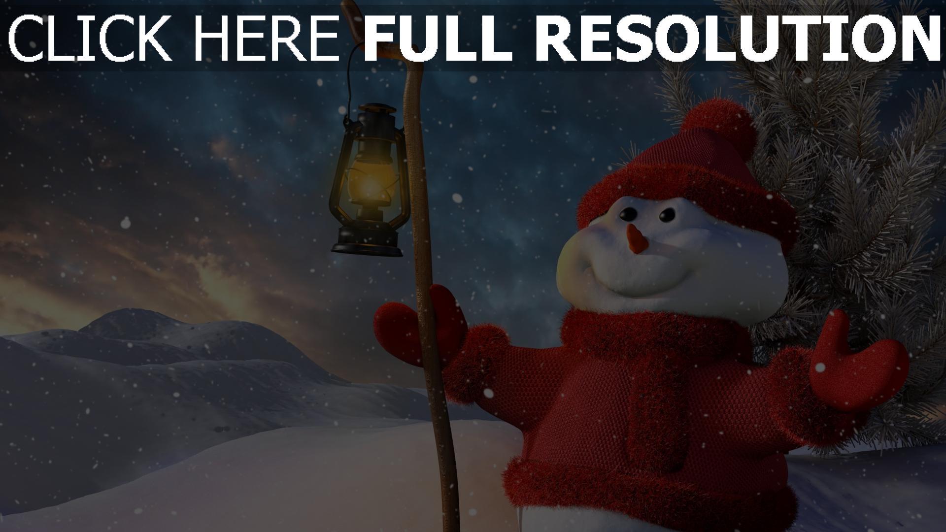 Hd Hintergrundbilder Schneemann Neues Jahr Winter Schnee Licht