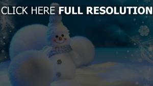 schneemann schnee winter neujahr weihnachten